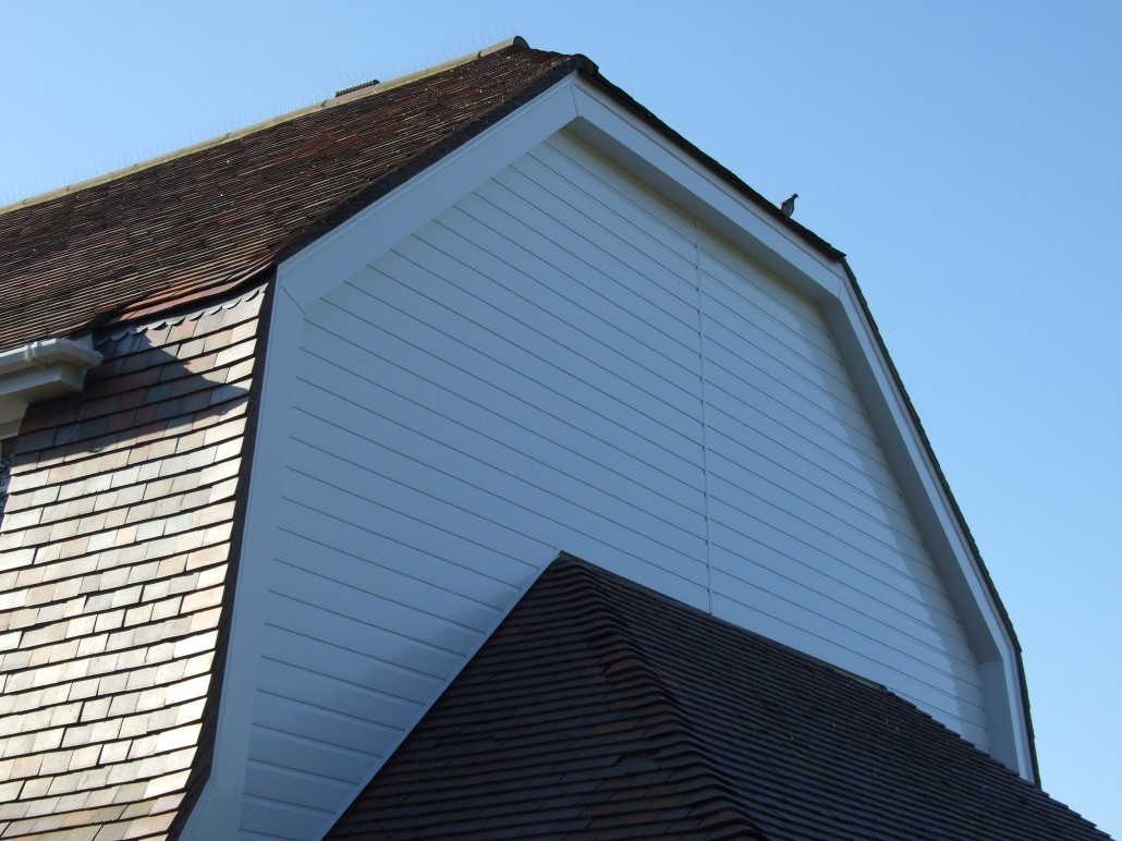 Installation Of Guttering Fascias And Soffits To A Dutch