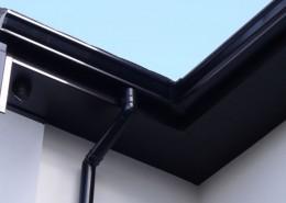 gutter seamless aluminum