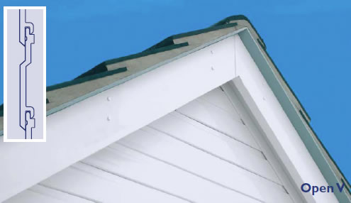 Open V PVC Cladding