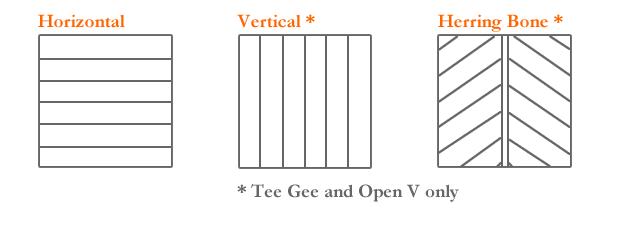 PVC Cladding Patterns