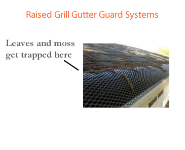 Raised Grill Gutter Guard System