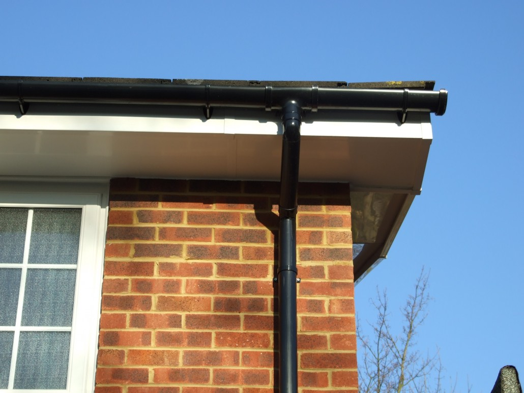 Installation Of Fascias Soffits And Guttering