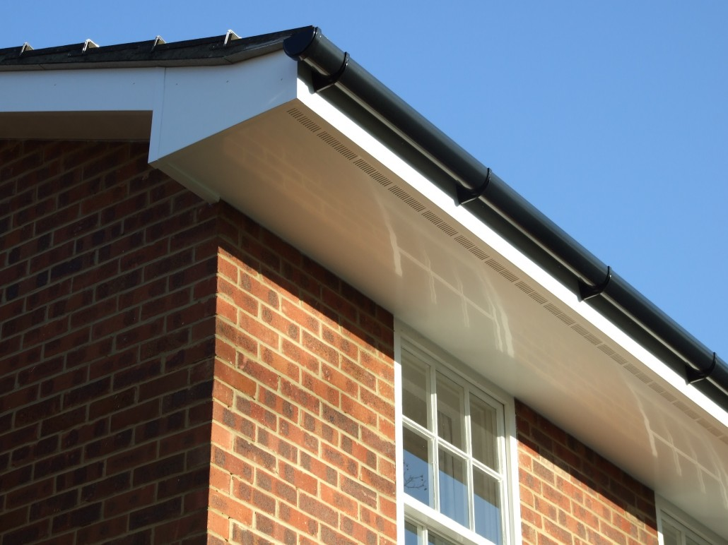 Pvc Siding Boards : Installation of fascias soffits and guttering