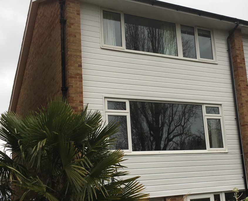 Fascias, Soffits, Gutters and Cladding on 3-Storey Town House in Sydenham