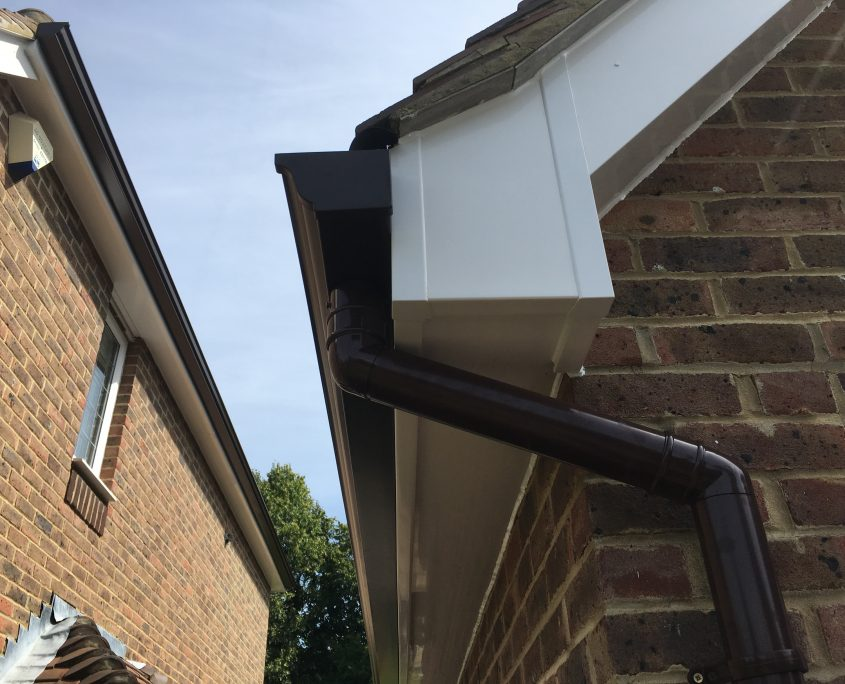 Installation Of Fascias Soffits And Guttering In Banstead