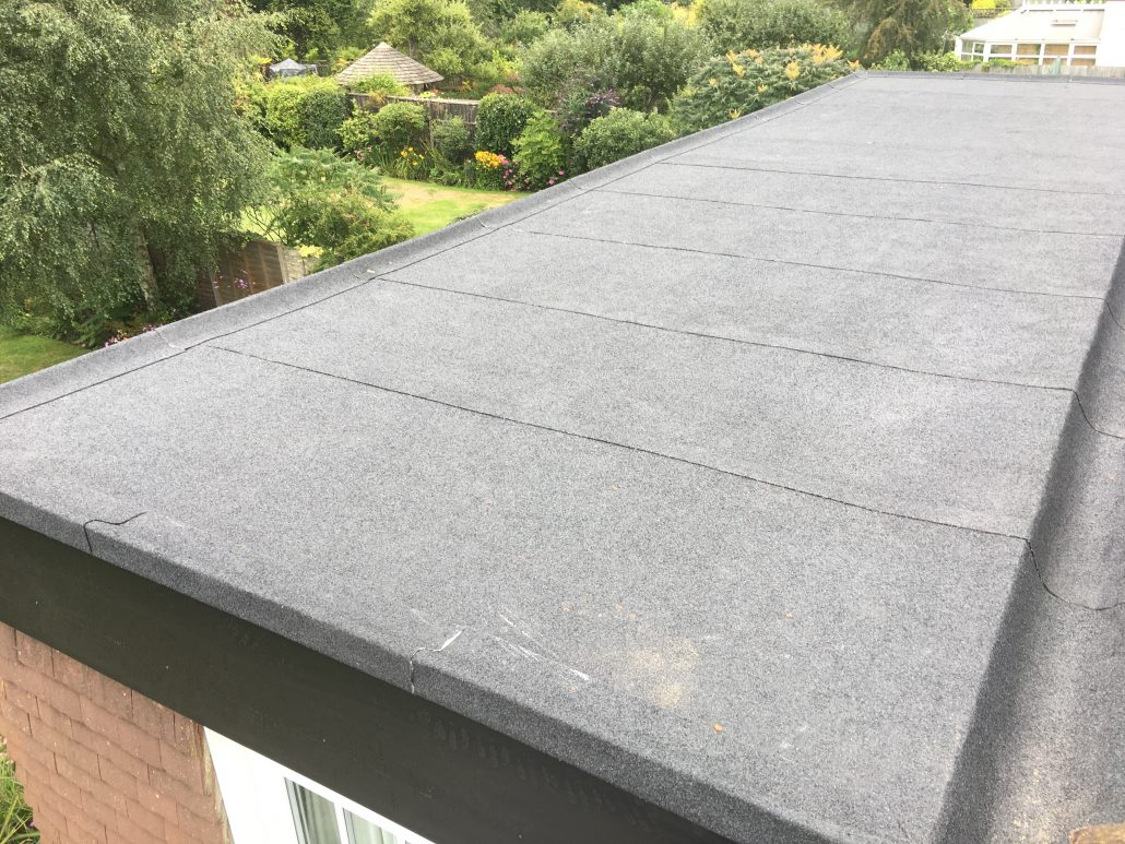 Installation Of Flat Roofing In Epsom Surrey Homefront