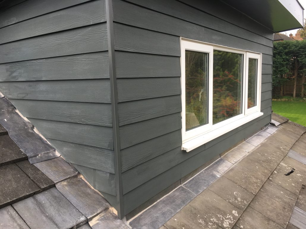 Installation Of Loft Dormer Cladding In Oxted Homefront