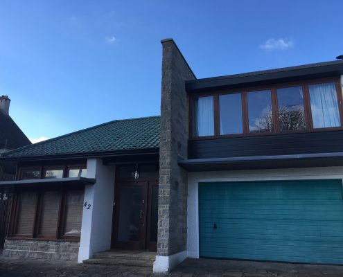 Installation Of Fascias Soffits And Aluminium Gutters In
