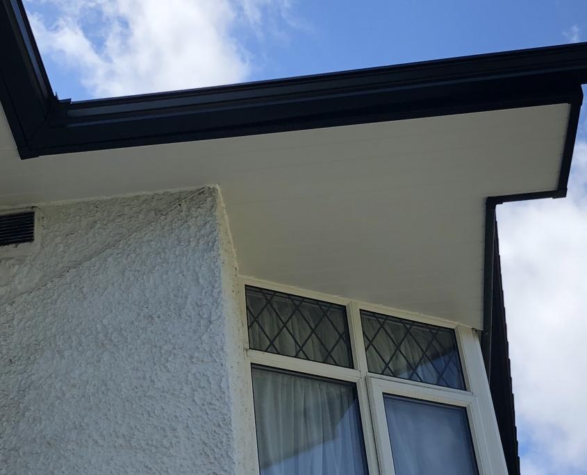 Mock Tudor Soffits Gutters Ewell Surrey 4
