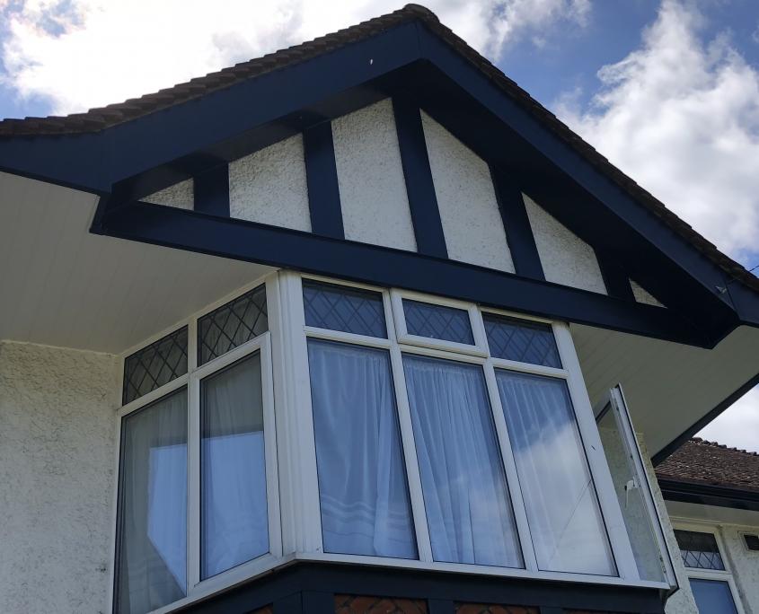 Mock Tudor Soffits Gutters Ewell Surrey 5