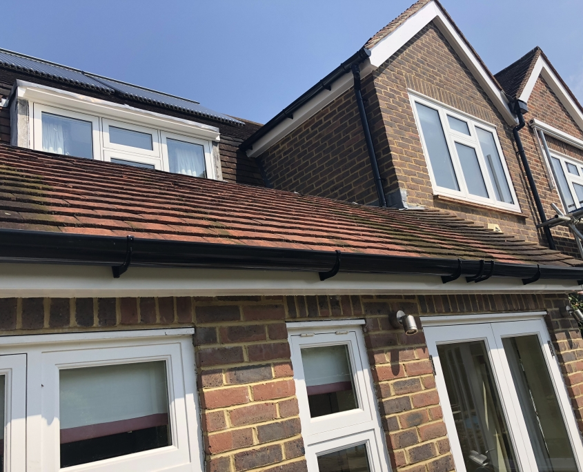 Fascias Soffits Bargeboards and Guttering in Merton Park SW19 1