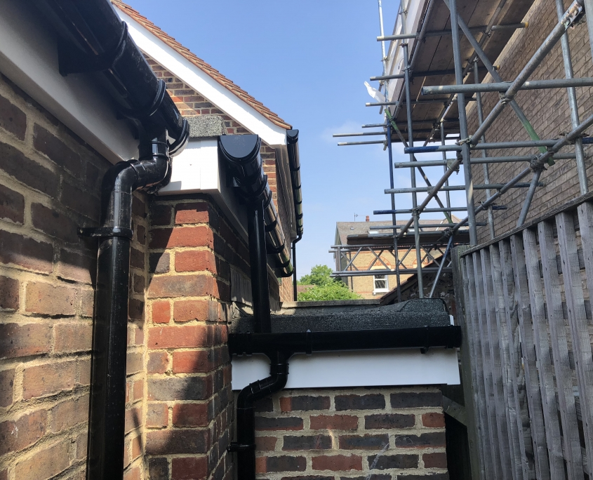 Fascias Soffits Bargeboards and Guttering in Merton Park SW19 4