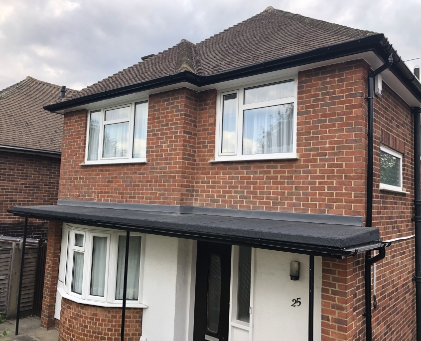 Fascias, Soffits, Guttering and Flat Roof Installation in Cheam 1