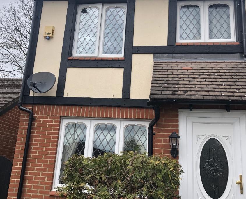 Mock Tudor Cladding Front of House