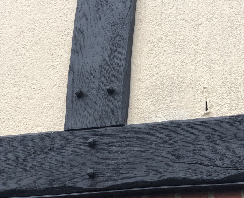 Mock Tudor Cladding Example Side View