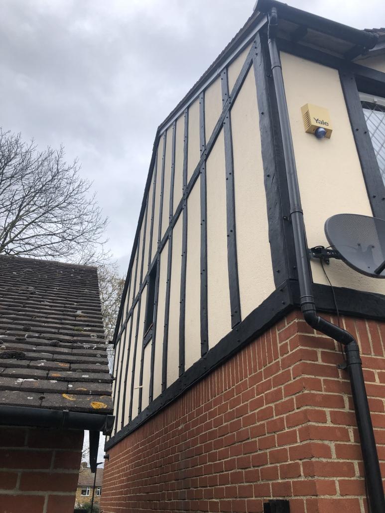 Mock-Tudor Exterior Cladding Installation in Feltham TW12