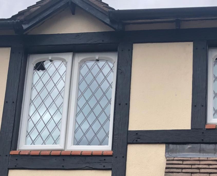 Mock Tudor Cladding Front Detail