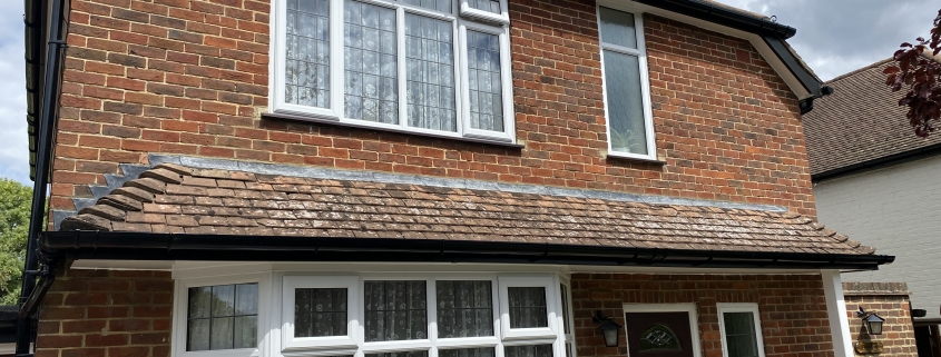 Black Fascias & White Soffits with Deep-Flow Guttering 1